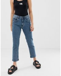 Cheap Monday - Organic Cotton Mom Jeans With Cropped Leg - Lyst