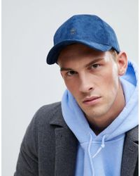 French Connection - Suedette Baseball Cap - Lyst