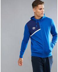 Umbro - Hooded Zip Jacket - Lyst