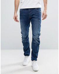G-Star RAW - Beraw Arc 3d Slim Jeans Medium Aged Wash - Lyst