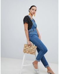 New Look - Slim Fit Dungarees - Lyst