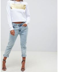Versace Jeans - Mom Jeans - Lyst