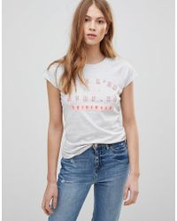 Tokyo Laundry - Isabella T-shirt With Contrast Neckline - Lyst