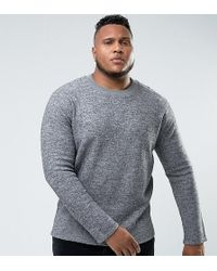 Bellfield | Plus Felt Sweatshirt | Lyst