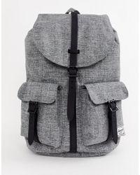 Herschel Supply Co. - Dawson 20.5l Backpack In Raven Crosshatch - Lyst