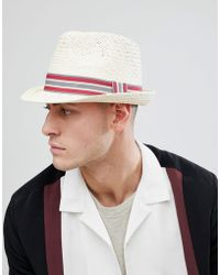 Barbour - Whitby Trilby In Beige - Lyst