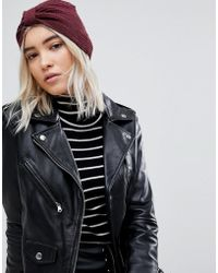 ONLY - Knot Front Hat - Lyst