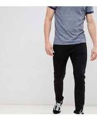 Calvin Klein - Stay Black Skinny Jeans With Logo Back Patch - Lyst