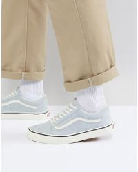 Vans - Old Skool Trainers In Blue Va38g1qvp - Lyst