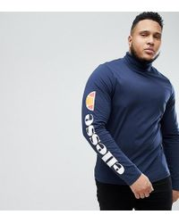 Col T Manches Roulé À Longues Imprimées Shirt rdCexBo