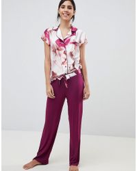 Ted Baker - B By Porcelain Rose Jersey Pajama Pant - Lyst