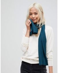 French Connection - Soft Knit Scarf - Lyst