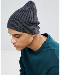 a5064099c51 G-Star Raw G Star Original Beanie in Purple for Men - Lyst