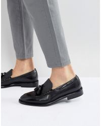 PS by Paul Smith - Omarr Tassel Loafers In Black - Lyst