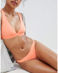 ac9bc391b0 Rip Curl Rip Curl Sun And Surf Cheeky Pant Bikini Bottom in Pink - Lyst