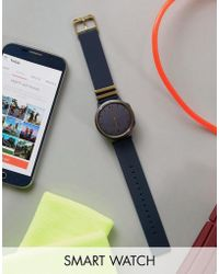 Misfit | Phase Smart Watch In Blue Mis5006 | Lyst