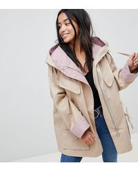 ASOS - Waterfall Parka With Contrast Liner - Lyst