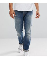 Nudie Jeans - Co Fearless Freddie Jeans Crispy Clear Wash - Lyst