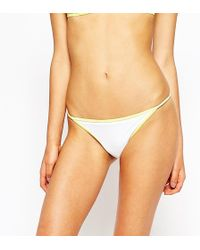 Oh My Love - Front Contrast Bikini Top - Lyst