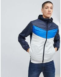 2a07b49218183 adidas Originals Tokyo Pack Nmd Track Jacket In Blue Bk2209 in Blue ...