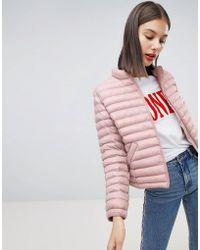 Esprit - Short Padded Jacket - Lyst