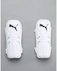 PUMA - Pro Training Slip Guard Football Shin Pads In White 3064301 - Lyst