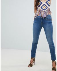 Free People - Roller Cropped Skinny Jeans - Lyst