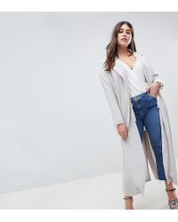 Missguided - Duster Coat - Lyst
