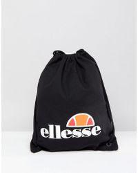 Ellesse | Drawstring Bag In Black | Lyst