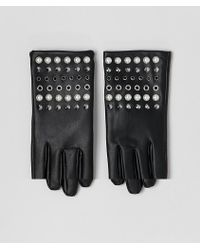 ASOS - Leather Look Gloves With Pearl And Stud Detail - Lyst
