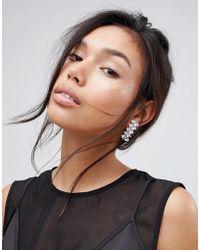 Krystal London | Swarovski Crystal Step Marquees Earrings | Lyst