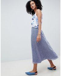 Gestuz - Midi Skirt In Clover Print - Lyst
