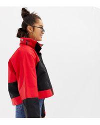 ad9f77f9390e Pull&Bear Padded Jacket in Orange - Lyst