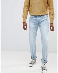 Levi's - Levi's Original 501 Straight Fit Jeans Faux Hawk - Lyst