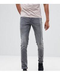 713cfa97f257 Blend Jeans Jet Slim Fit Stretch Washed Black Denim - Black in Black ...