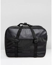 adidas Originals - Airliner Sport Bag In Black - Lyst