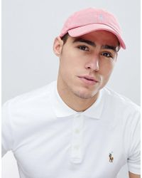 Polo Ralph Lauren - Player Logo Weathered Mesh Baseball Cap In Red - Lyst