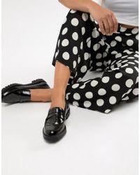 Bershka - Patent Loafer - Lyst