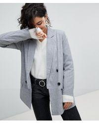 Vero Moda - Double Breasted Tailored Blazer - Lyst