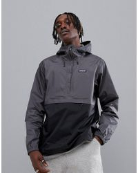 Patagonia - Torrentshell Pullover In Grey - Lyst