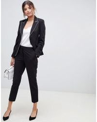 Millie Mackintosh - Tipping Cigarette Co-ord Trousers - Lyst