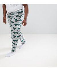 ASOS - Design Plus Pyjama Bottoms With Dinosaur Print - Lyst