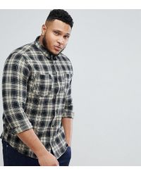 Only & Sons - Checked Shirt In Regular Fit - Lyst