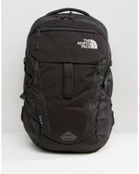 The North Face - Surge Backpack In Black - Lyst
