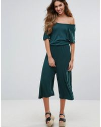 First & I - Waisted Jumpsuit - Lyst
