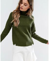 First & I - Turtleneck Sweater - Lyst