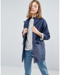 Native Youth - High Collar Trench - Lyst