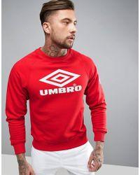 Umbro - Pro Training Sweatshirt In Red - Lyst