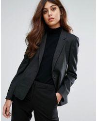 Warehouse - Textured Tailored Blazer - Lyst