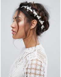 New Look - Jewelled Hair Garland - Lyst